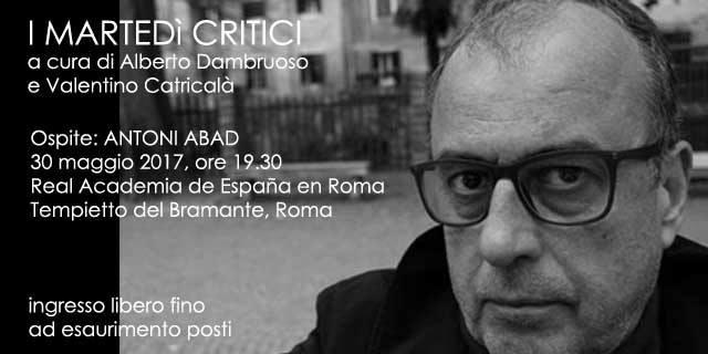 Antoni Abad cartel 2