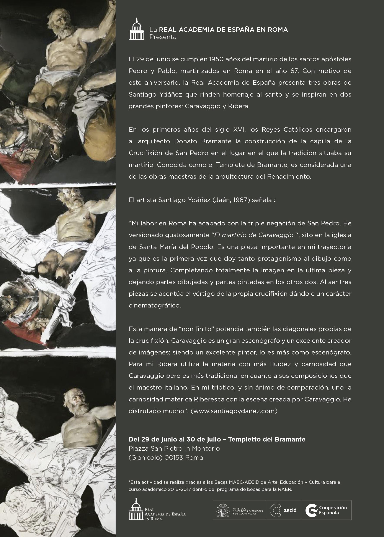 Flyer SANTIAGO YDAÑEZ español