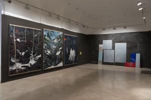Sala de exposiciones con la obra de Santiago Giralda y Laura F. Gibellini