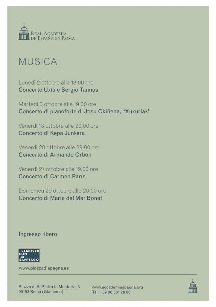 """Programa de Música Academia """"Remover Roma con Santiago"""""""